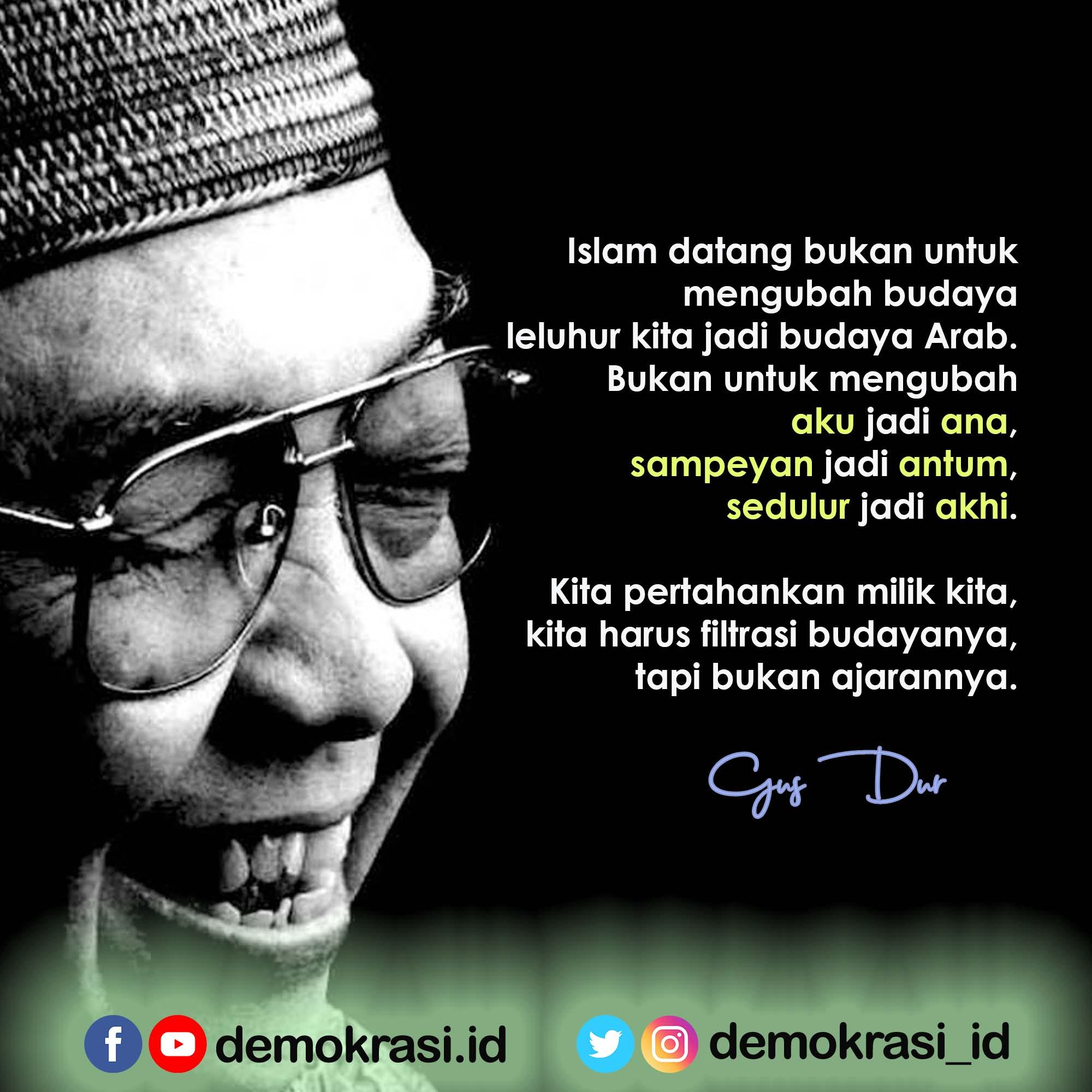 Indonesia Bukan Arab